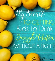 My Secret to Getting Kids to Drink Enough Water Without a Fight!