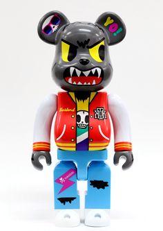 Tokidoki bearbrick wolf