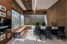 Office Cabin Design, Office Space Design, Office Interior Design, Office Interiors, Gray Interior, Interior Doors, House Design, Furniture Layout, Home Office Furniture