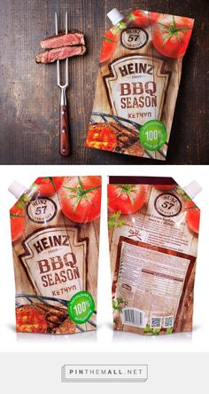 Heinz BBQ SEASON by Getbrand. Pin curated by #SFields99 #packaging #design