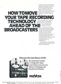 1958 3M Scotch recording tape ad featuring the Ampex 351