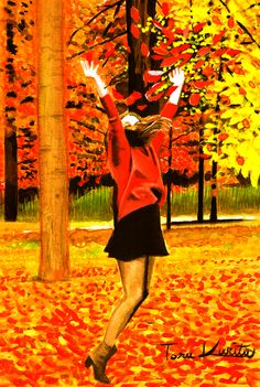 Autumn Leaves Play by eiger3975.deviantart.com on @DeviantArt http://eiger3975.deviantart.com/art/Autumn-Leaves-Play-499588115