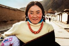Tibet, China  30 Stunning Pictures Showing Beautiful Women From All Around The World • Page 3 of 6 • BoredBug