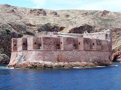 PORTUGAL - Berlengas fortress.