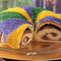 King Cake Recipe...because once a year just isn't enough! :-P