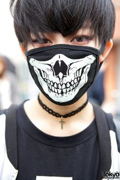 Skull Face Mask j fashion