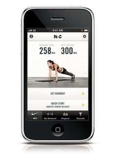Check Out Fitness Apps For Your iPhone  There is no shortage of great fitness apps available and many are free. One we love: The free NIKE Training Club App. It offers more than 60 custom built workouts (designed by NIKE trainers) that allow you to listen to your own music while sweating to audio instructions and video demos. Current options include 15, 30 and 45-minute workouts.