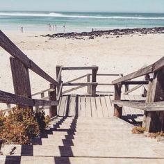 Rustic beach scene. #so indie #beach #holiday #beachsnap #victoria #portfairy #beautiful #aussiebeach #swimming #surfing #sunburn #sunshine #woodensteps #whitesand #cool #blueocean #swimwithaview #summer #fishandchips #summerinaustralia #follow4follow #followforfollow #like4like #likeforlike by rubydoobyx
