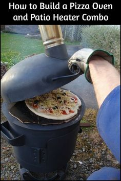 Here's a great project that'll give you a pizza oven that can also be used as a patio heater.