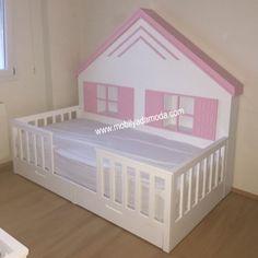 izmir bebek odası|izmir çocuk odası|mobilyadamoda|bebek odası|çoçuk odası|beşik izmir|ranza,izmir,yer yatağı,montessori yatağı,çocuk odası,montessori yer yatağı, kişiye özel tasarım, özel tasarım mobilya, özel üretim mobilya, izmir çocuk odası, genç odası,Montessori, ~ Arkası Çatılı Yer Yatağı Gri 90x190