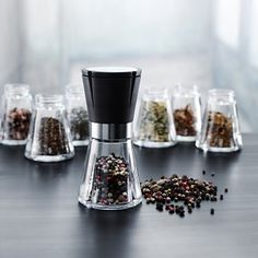 Grand Cru Spice Jars From Rosendahl Cooking Gadgets, Cooking Recipes, Uk Homes, Spice Jars, Drip Coffee Maker, Cool Gadgets, Glass Jars, Great Recipes, Spices