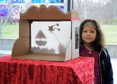 Copy Paper Box Shadow Puppet Theater | Carle Museum