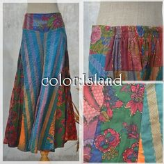 Hippie Mix Clothes Bottoms *color: Island* * #Hippiefashion #onlinestore #naturaleeza