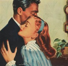 Image about vintage in My uploads by Yoni 🖤 on We Heart It Romance Vintage, Romance Arte, Vintage Love, Vintage Ads, Vintage Images, Vintage Prints, Vintage Theme, Vintage Stuff, Vintage Housewife