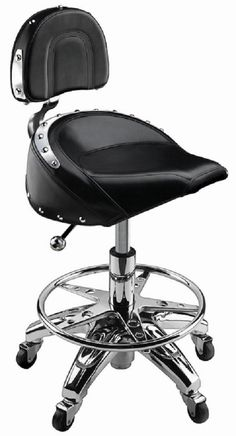 Bikers Barstool Salon Spa Tattoo Counter Bar Stool Kitchen Furniture Home Decor