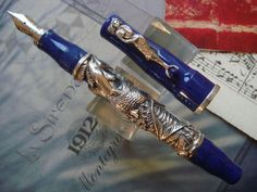 Vintage Gorgeous RARE Limited Edition Montegrappa La Sirena Year 1998 | eBay