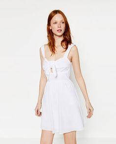 Image 2 de ROBE EN POPELINE de Zara