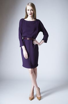 Mae :: Aubergine - Dresses | MM LAFLEUR |  I'm going to need this