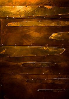Handmade Copper Wall Coverings - Renaissance New York Times Square Hotel
