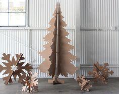 5 pi haut carton famille cerf de Noël par MettaPrints sur Etsy