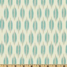Amazon.com: 54'' Wide Braemore Spice Market Ikat Aquamarine Fabric By The Yard: Arts, Crafts & Sewing