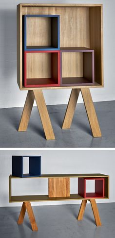 GO shelfs by Vitamin Design at @imm cologne 2013 #wood