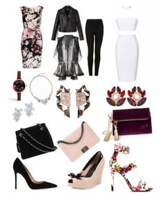 """""""3 amazing looks 💐"""" by girlsbossbio on Polyvore featuring Gina Bacconi, Melissa, Chanel, Alexander McQueen, Topshop, Gianvito Rossi, Steve Madden, Dolce&Gabbana, ASOS and Old Navy"""