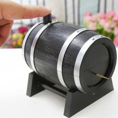 Best price on Wine Barrel Automatic Toothpick Box //   See details here: http://smartkitchentools.com/product/wine-barrel-plastic-automatic-toothpick-box-container-dispenser-holder-popular-new/ //    #food #yum #yummy #amazing #cooking #bakery #pastry #dinner #lunch #breakfast #fresh #tasty #food #delish