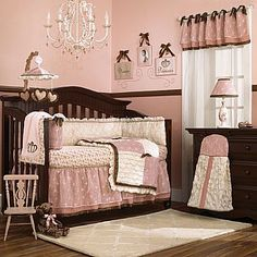 """Saw part of this collection in a """"Once Upon a Child"""" store and loved it! :) So girly!"""
