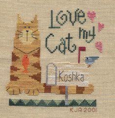 I really loved my cat Koshka.  He was something else!