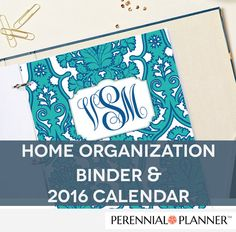 Printable Planner 2016 15% OFF Household by PerennialPlanner