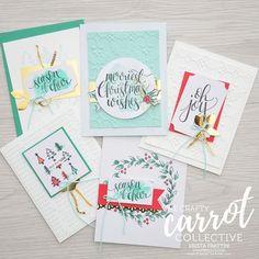 watercolor christmas kit, alternate ideas