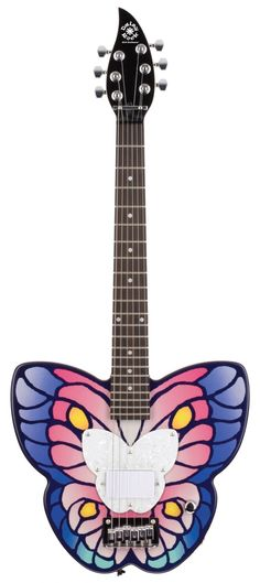Debutante Butterfly Short Scale   Daisy Rock Guitars the Girl Guitar Company
