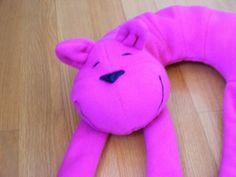adorable! Cat Travel Neck  Pillow for Sleeping Children by Rockamabag
