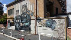 Matteo Brogi (Collettivo La Talpa) - Casal Bernocchi (Roma) rinasce con l'arte urbana
