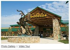 """The World's Foremost Outfitter"", Cabela's! Located at The Highlands in Triadelphia, WV!"