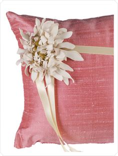 Beautiful Ring Bearer Pillows | Wedding Paper Divas Blog