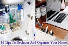 16 Tips To Declutter And Organize Your Home