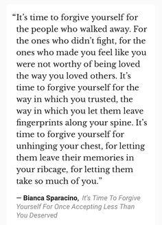 Powerful...forgiveness