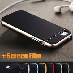 Luxury Thin Hybrid 2 in 1 Soft Silicone+PC Frame Armor Case Cover Skin For Apple iPhone 4 4S Shock Proof Back Phone Cover Retail iPhone Hrvatska - Najbolja online kupovina za vas ! | iPhone.hr
