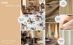 another neutral that looks lovely in any room. Pantone, Jazz, Mocha, Interior Color Schemes, Color Inspiration, Inspiration Boards, Color Trends, Colours, Colour Colour