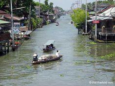 Khlong Damnon Saduak Thailand, Floating, Marketing
