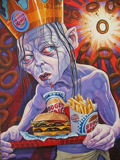 Dave MacDowell Studios Lord of the Onion Rings