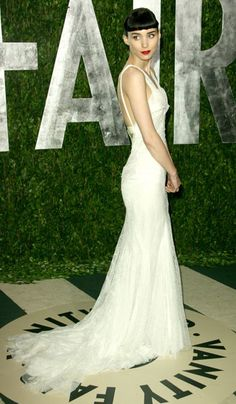 Rooney Mara in Givenchy - 2012, oscars, The Best Oscar Dresses Ever, red carpet,