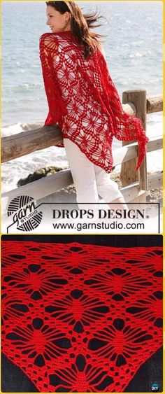 Crochet Tenerife Spider Shawl Free Pattern - Crochet Women Shawl Sweater  Outwear Free Patterns Crochet Poncho 4becff86e