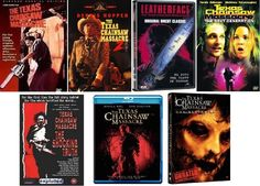 The Texas Chainsaw Massacre Collection of 8 Movies, including a documentary…