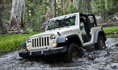 2012 Jeep Wrangler treckin' through a bustling river! Wrangler Jeep, Jeep Rubicon, Jeep 4x4, 2 Door Jeep, Ram Cars, Stars News, Star Wars, Chrysler Dodge Jeep, Mopar
