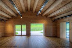 Centro Di Cultura Tublà Da Nives - Picture gallery #architecture #interiordesign #beams #wood