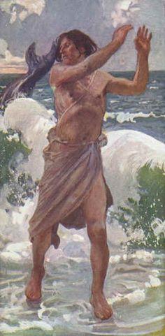 James Tissot - Le prophète Jonas 1888