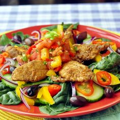 Mexican Spiced Chicken Salad